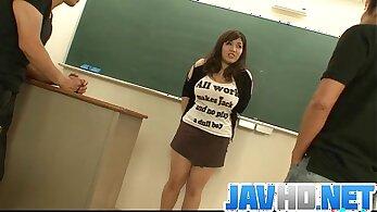 Busty PE Teacher Fucks Her Student