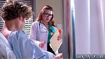 Alicia Vikander in sexy brazilian busty nurse gets fucked by Lex