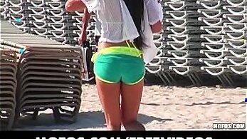 Amateur New Video at Bikini Beach