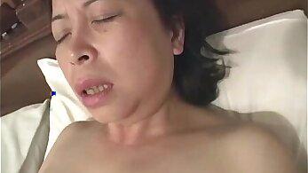 Asian Granny Schlongail dance fucked
