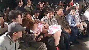 Japanese Motoko Kurosawa in Mixed Wrestling!