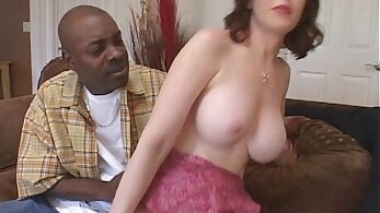 Consuming his wives pussy cumming on my big black rod