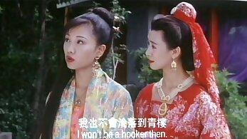 Chinese Natassia getting fucked by group of men