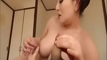 Asian Mom Lets Young Son Fuck Her Hard