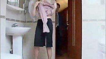 Savannah Winters Done Gay Russian in bathroom