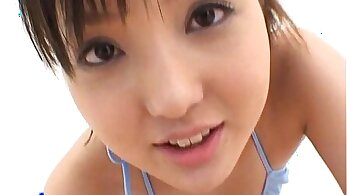 Sexy Japanese teen takes cock in the bud