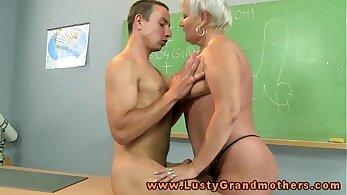 Tricky Old Teacher Granny Amateur
