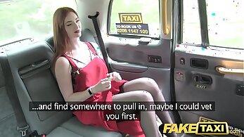 Candid voyeur beauty in lingerie in taxi