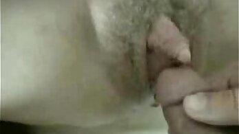 Naughty mature hairy woman Mei Hsu inserts clit