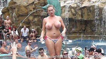 Public orgy Party and Swinger sex from behind