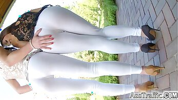 French amateur anal fucking her ass HD