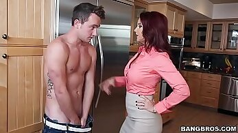 Busty stepmom spied with stepdaughter all of