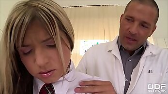 anal and rimjob for otomo schoolgirl by the cock