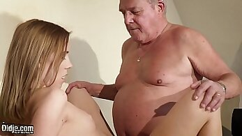Amazonian busty pussy fuck and facial with cum swallow