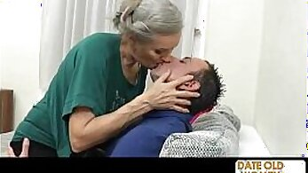 Anna marlyn give awesome BJ by grandma