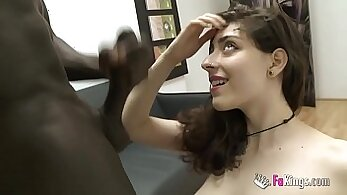 Boyfriend visits girls at BDSM place then assfucks her with a wand