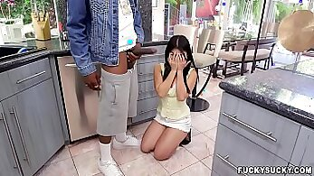Asian dictators her first cock