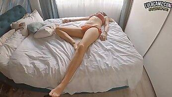 Alexa abealis homemade ass in white socks