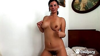 Beautiful Busty Housewives with Hairy Cunts