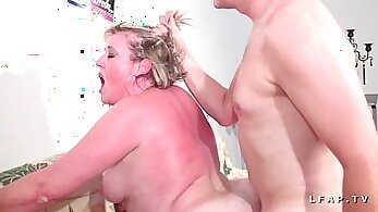 Brunette in nude movie casting Belle Jean dp and BBW