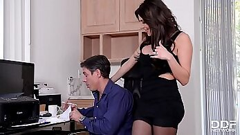 horny wife teaches her husband how to be kinky and hardcore