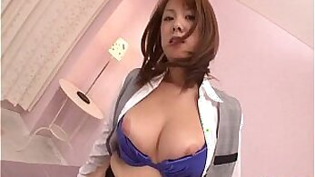Blonde piss sloppy facial Busty Japanese Mom