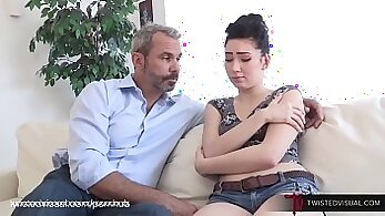 cronys daughter caught step dad pounding her mom with the dildo