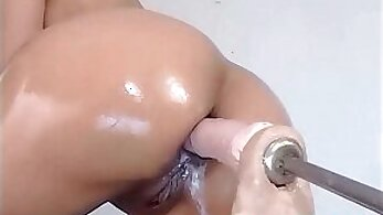 Best of My Cum-tribute Pulling out Gigolo Dildo And Fucking Machine