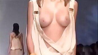 Busty Lace Model Riff Raffout Nude